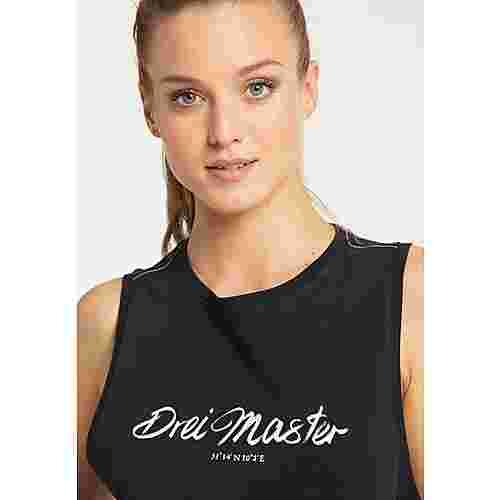 DreiMaster Tanktop Damen schwarz