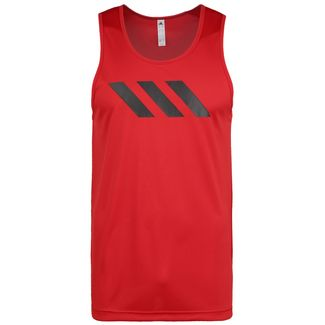 adidas Sport 3-Stripes Tanktop Herren schwarz