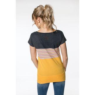 ALIFE AND KICKIN CleaAK T-Shirt Damen amber