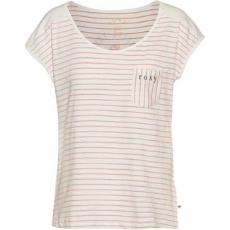 Roxy T-Shirt Damen cafe creme stan stripe