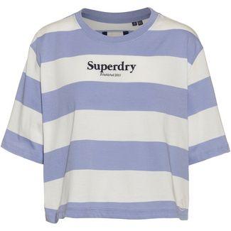 Superdry HARPER T-Shirt Damen blue heron