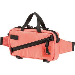 Topo Designs Mini Quick Pack Bauchtasche coral-coral
