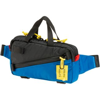 Topo Designs Mini Quick Pack Bauchtasche black-blue