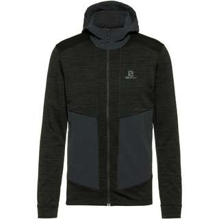 Salomon OUTLINE Fleecejacke Herren ebony heather