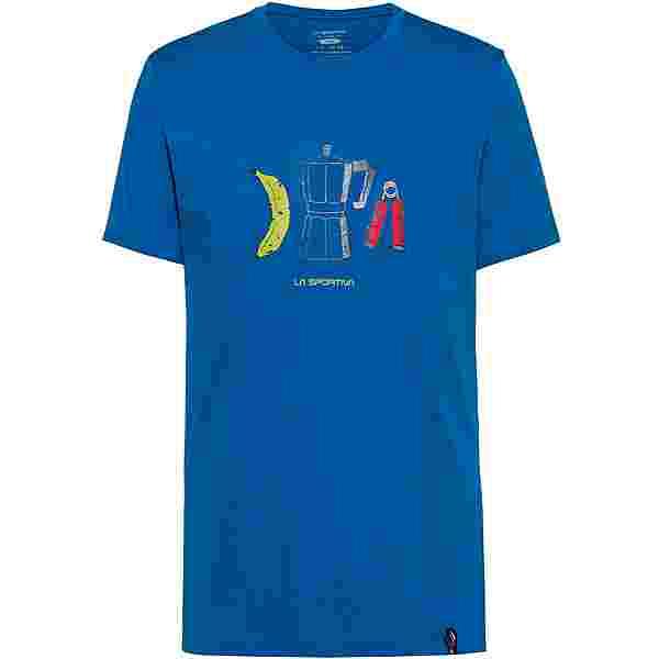 La Sportiva Breakfast T-Shirt Herren neptune