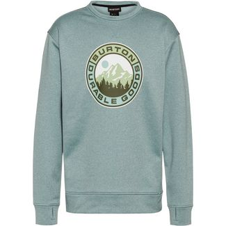 Burton Oak Sweatshirt Herren ether blue heather