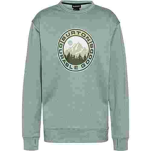 Burton Oak Sweatshirt Herren ether blue heather