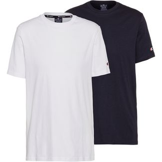CHAMPION Shirt Doppelpack Herren white-sky capitain