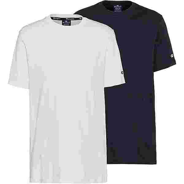 CHAMPION Shirt Doppelpack Herren white-sky capitain