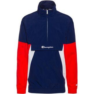 CHAMPION Windbreaker Herren medieval blue equal to bme-high risk red-white