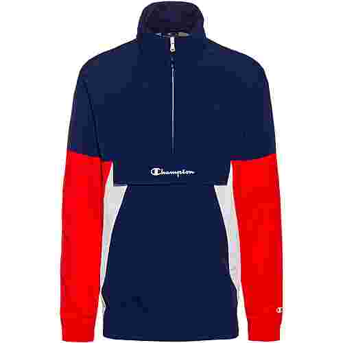 CHAMPION Windbreaker Herren medieval blue equal to bme-high risk red-white