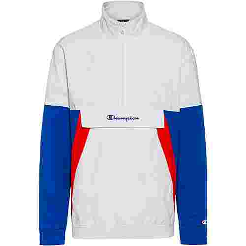 CHAMPION Windbreaker Herren white-nautical blue-high risk red