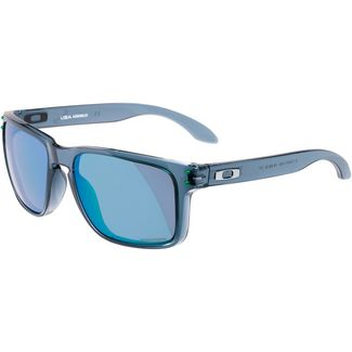 Oakley HOLBROOK XL Sonnenbrille crystal black;prizm jade