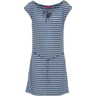 VENICE BEACH Kurzarmkleid Damen blau-weiß gestreift