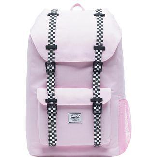 Herschel Rucksack Little America Daypack rosa / schwarz