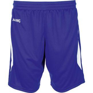 Spalding 4Her III Shorts Damen dunkelblau / weiß