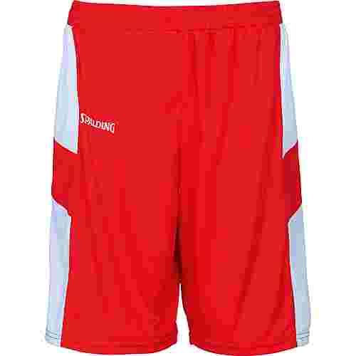 Spalding All Star Shorts Herren rot / weiß