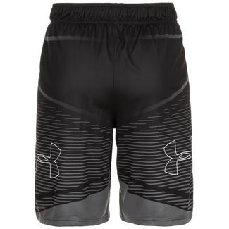 Under Armour Baseline Practice Basketball-Shorts Herren schwarz / grau