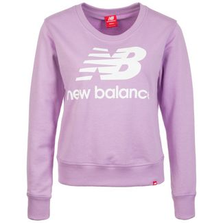 NEW BALANCE Essentials Crew Sweatshirt Damen flieder