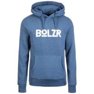Bolzr Hoodie Hoodie Herren hellblau / weiß