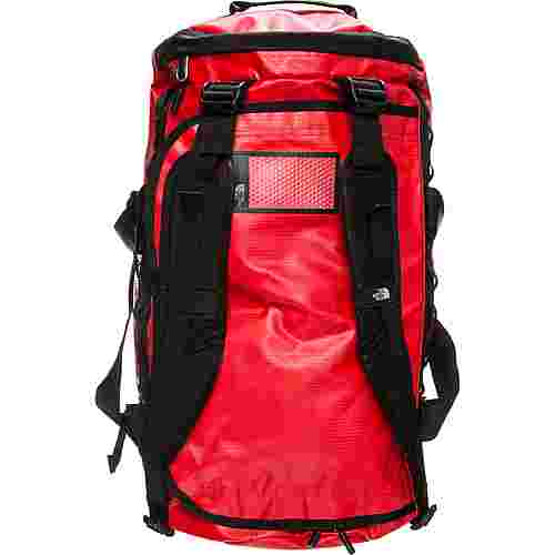 The North Face Base Camp Duffel Reisetasche rot / schwarz
