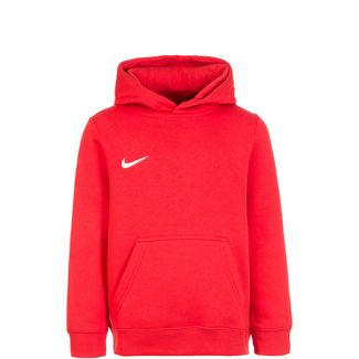 Nike Club19 Fleece TM Hoodie Kinder rot / weiß