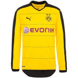 PUMA Borussia Dortmund 15/16 Heim Fußballtrikot Herren gelb / schwarz