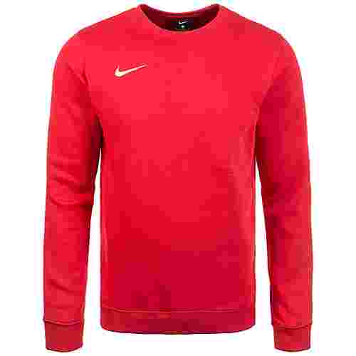 Nike Club19 Crew Fleece TM Funktionssweatshirt Herren rot / weiß