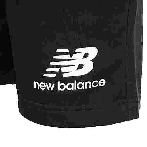 NEW BALANCE Essentials Stacked Logo Bermudas Herren schwarz