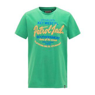 Petrol Industries T-Shirt Kinder Bright Green