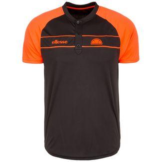 Ellesse Nostrano Poloshirt Herren schwarz / orange
