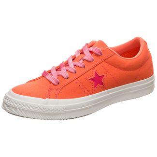 CONVERSE One Star Sneaker Damen orange / weiß
