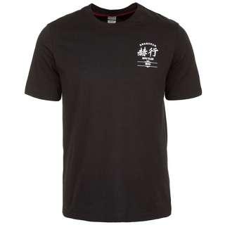 Herschel Tee T-Shirt Herren schwarz / grau