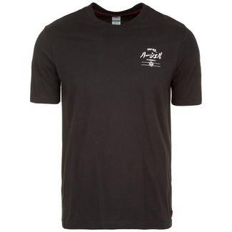 Herschel Tee T-Shirt Herren schwarz / hellgrau