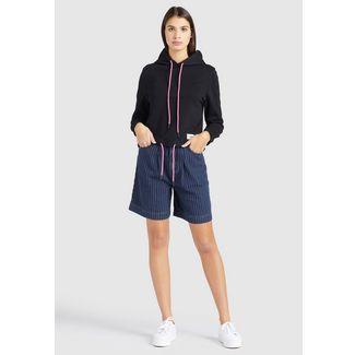 Khujo ABALIE Sweatshirt Damen schwarz