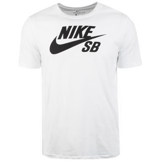 Nike Dry Logo T-Shirt Herren weiß / schwarz