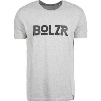 Bolzr T-Shirt T-Shirt Herren grau / schwarz
