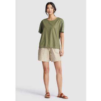 Khujo ALONNA T-Shirt Damen khaki