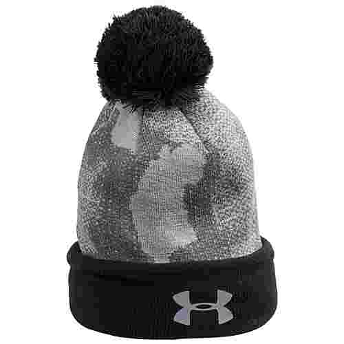 Under Armour Pom Beanie Kinder hellgrau / anthrazit