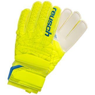 Reusch Fit Control SG Finger Support Torwarthandschuhe Herren neongelb / blau