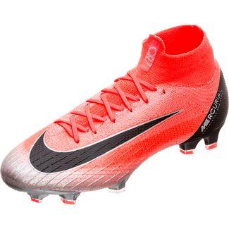 Nike Mercurial Superfly VI Elite CR7 Fußballschuhe Herren neonrot / schwarz