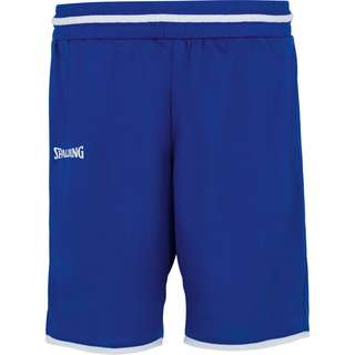 Spalding Move Basketball-Shorts Damen blau / weiß