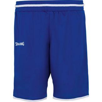 Spalding Move Basketball-Shorts Damen blau / weiß