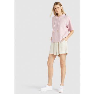Khujo AMENA Sweatshirt Damen rosa meliert