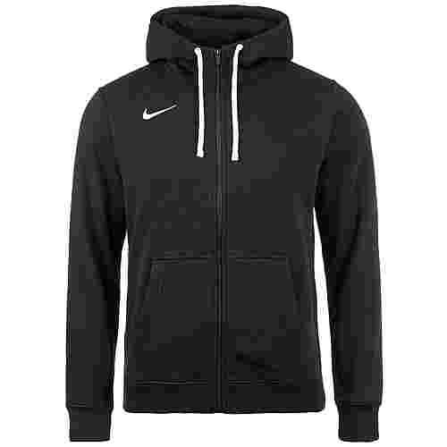 Nike Full Zip FLC Club19 Trainingsjacke Herren schwarz / weiß