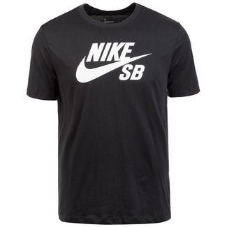 Nike Dry Logo T-Shirt Herren schwarz / weiß