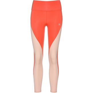 Calvin Klein Heritage Tights Damen hot coral-peach bud