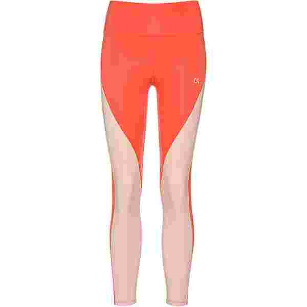 Calvin Klein Heritage Tights Damen hot coral-peach bud