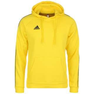 adidas Core 18 Hoodie Herren gelb