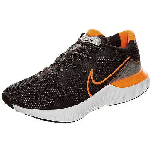 Nike Renew Run Laufschuhe Herren schwarz orange im Online Shop von SportScheck kaufen